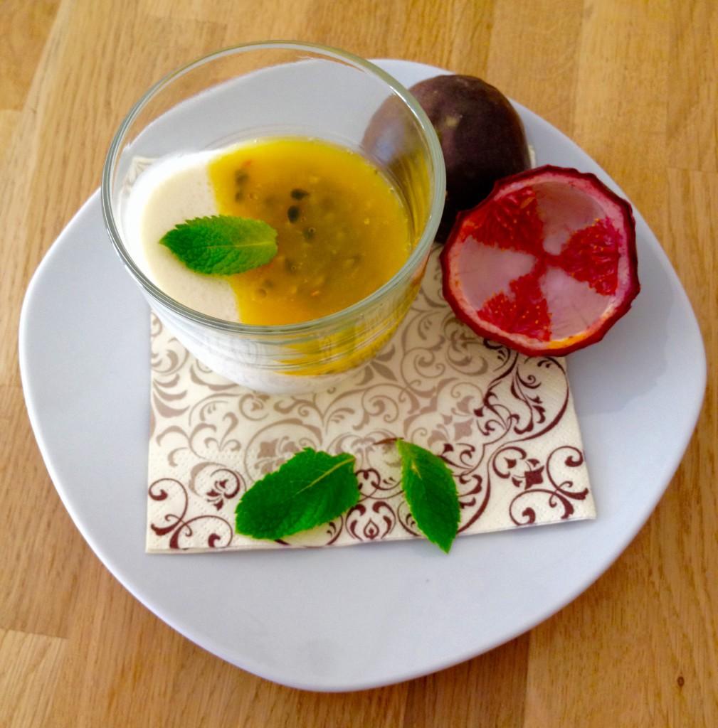 Panna cotta coco passion un petit oiseau dans la cuisine - Panna cotta noix de coco ...