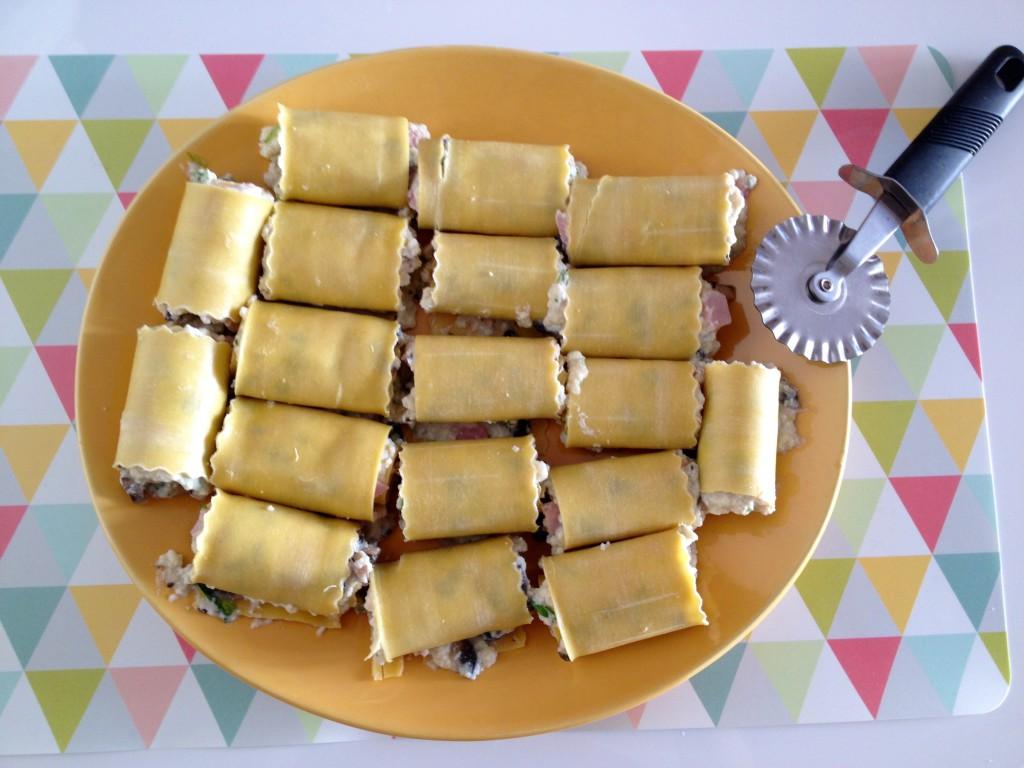 Lasagnettes au Brocciu