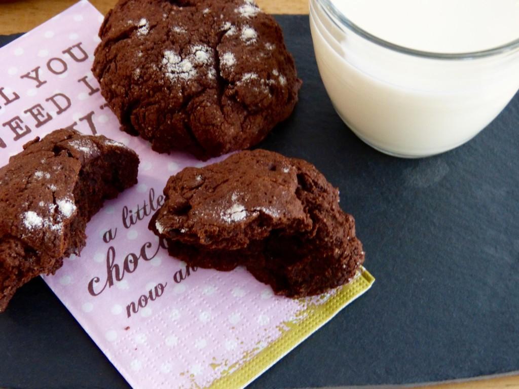 Scones au chocolat