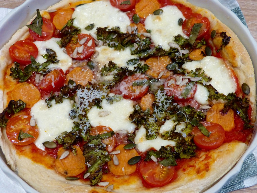 Pizza Kale et patate douce
