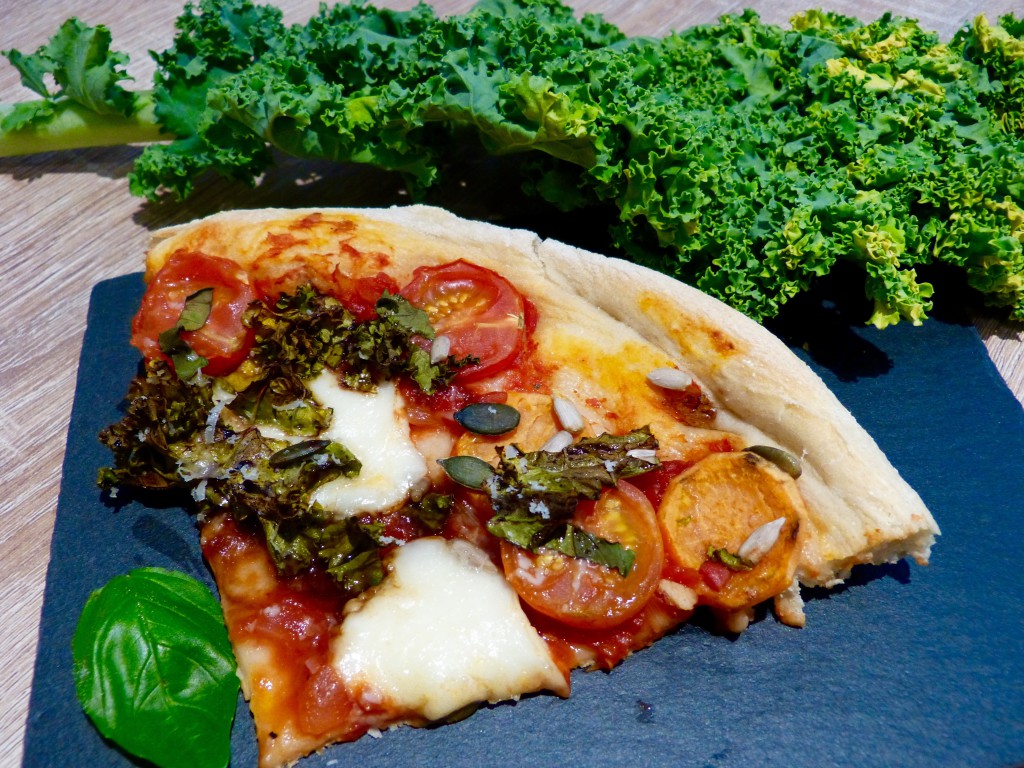 Pizza kale & patate douce