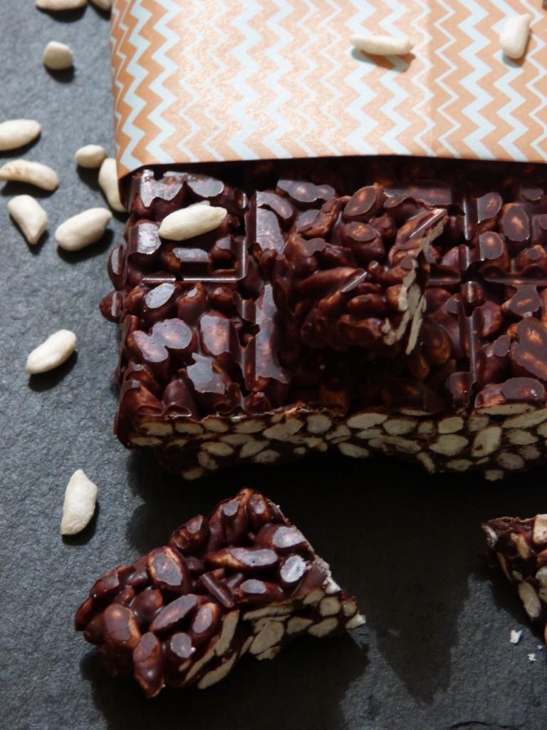 Ma tablette de chocolat crunchy