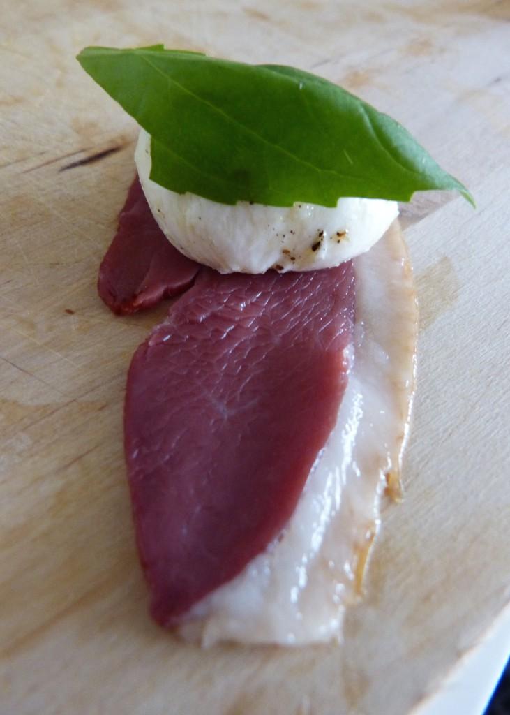 Magret de canard à l'italienne