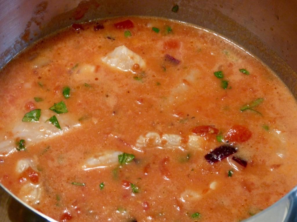 Fl tan en sauce coco et agrumes un petit oiseau dans la for En cuisine avec coco