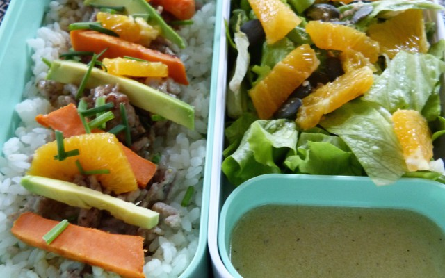 Lunch Box n°2 riche en couleurs