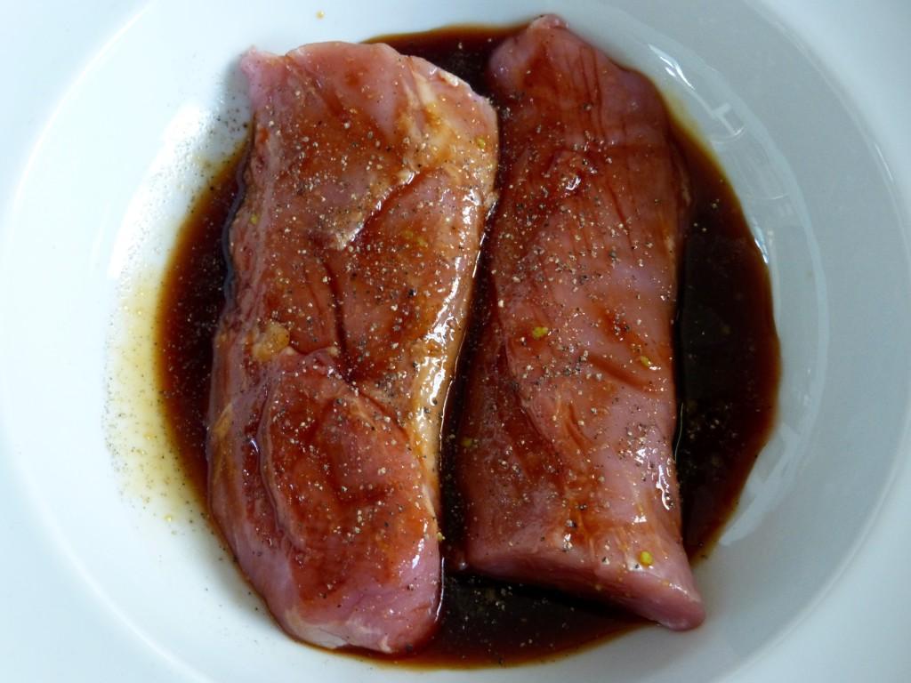Filet mignon de porc et ses petits légumes