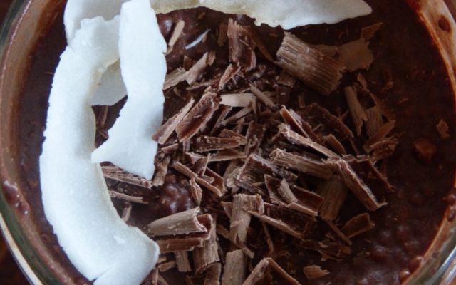 Chocolate Chia Seed Superfood Pudding